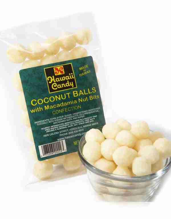 Hawaiian Coconut Balls