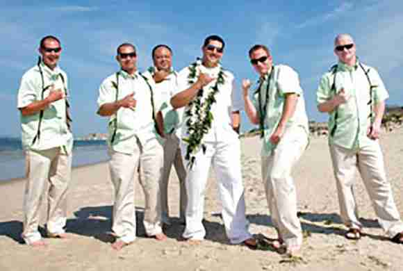 Wedding Leis for Men