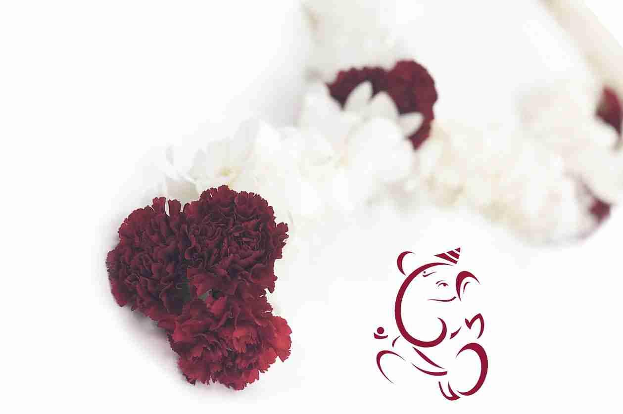 Hindu Wedding Leis