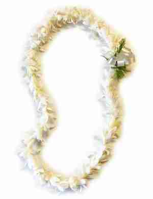 Short Stem Tuberose Lei