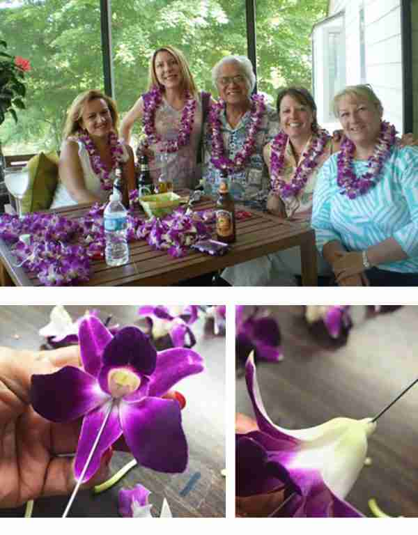 Lei Making Party